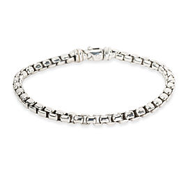 David Yurman Large Box Chain Bracelet in Sterling Silver