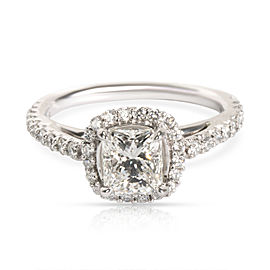 GIA Certified Radiant Diamond Engagement Ring in 14K White Gold I VS1 1.44 CTW