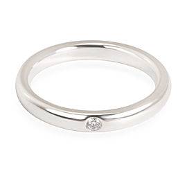 Tiffany & Co. Elsa Peretti Stackable Diamond Band in Sterling Silver 0.02 CTW
