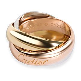Cartier Trinity Ring in 18K 3 Tone Gold 5mm