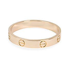 Cartier Love Band in 18K Rose Gold Size 64