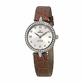 Omega De Ville Prestige Diamond Ladies Watch 424.18.27.60.52.001