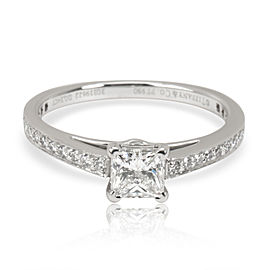 Tiffany & Co. Grace Diamond Engagement Ring in Platinum G VS1 0.44 CTW