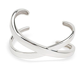 Tiffany & Co. Palomo Picasso Grafitti X Cuff in Sterling Silver