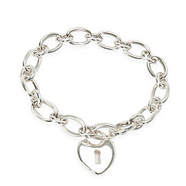 Tiffany & Co. Heart Lock Bracelet in Sterling Silver