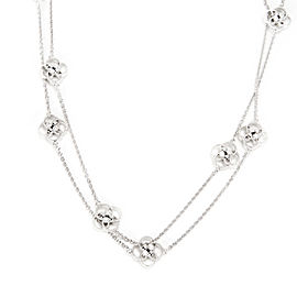 Celtic Knot Diamond Necklace in Sterling Silver 0.09 CTW