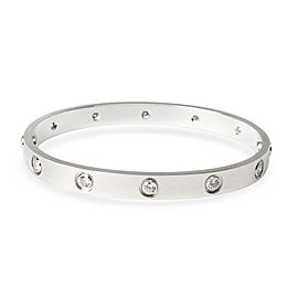 Cartier Diamond Love Bracelet in 18K White Gold 1 CTW