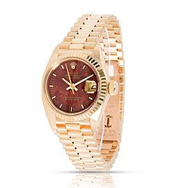 Rolex Datejust 6917 Women's Watch in 18kt Yellow Gold