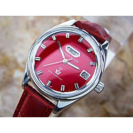 Citizen Seven Star Manual Day Date 1960s Made in Japan Dress Watch for Men L147