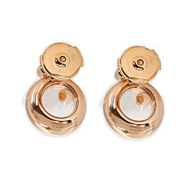 Chopard Happy Diamonds Earrings in 18K Rose Gold (0.18 CTW)
