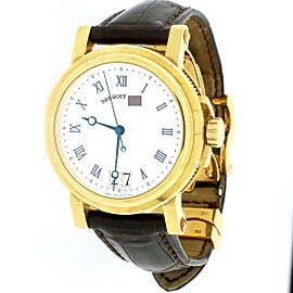 Breguet Marine Big Date 18K Yellow Gold 40mm Watch 5817BA/12/9V8