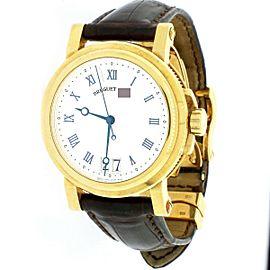 Breguet Marine Big Date 18K Yellow Gold 40mm Watch 5817BA/12/9V8