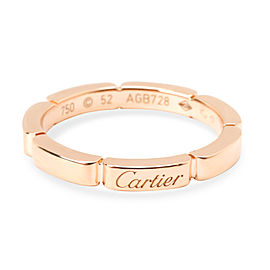 Cartier Maillon Panthere Wedding Band in 18K Rose Gold