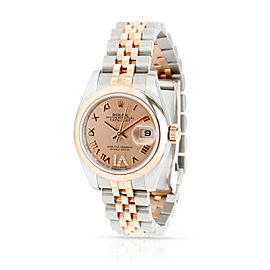 Rolex Datejust 179161 Women's Watch in 18kt Stainless Steel/Rose Gold