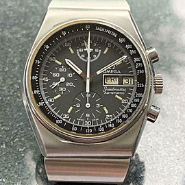 OMEGA Men's Speedmaster Mark IV Day Date Automatic Chronograph 40mm c1970s LV288