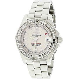 Breitling Colt Ocean Factory Diamond Bezel 33MM Ladies Watch A77380