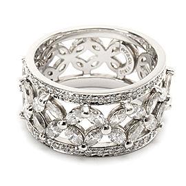 Tiffany & Co. Victoria Diamond Band in Platinum 2.12 CTW