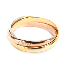 Cartier Trinity Ring Small Model in 18K Yellow, Rose & White Gold