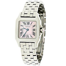 Cartier Santos Demoiselle Stainless Steel 21mm Ladies Watch W25075Z5
