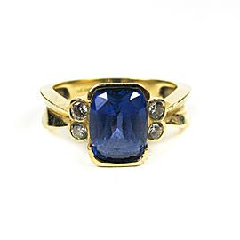 Le Vian - Ring - Diamond & Tanzanite - 0.21 ct Diamond 3.23 ct 14K Gold