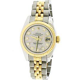 Rolex Datejust 26mm Yellow Gold/Steel Jubilee Watch 179173