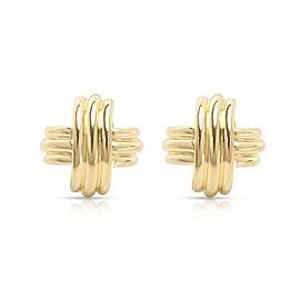 Tiffany & Co. X Earring in 18K Yellow Gold