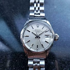 ROLEX Oyster Perpetual Ladydate 6516 Automatic All-Stainless Steel, c.1971 LV845