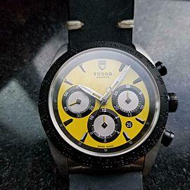 TUDOR Men's Fastrider Chronograph ref42010 Automatic w/Date, c.2010s Swiss LV967