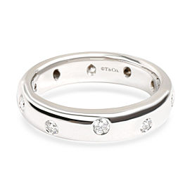 Tiffany & Co. Etoile Diamond Band in Platinum 0.25 CTW
