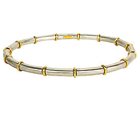 BRAND NEW Gurhan Midnight Bangle Bracelet in Sterling Silver MSRP 1,500