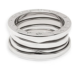 Bulgari B.zero1 Ring in 18KT White Gold (Size 53)