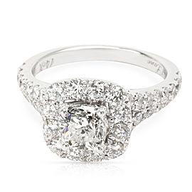 Neil Lane Diamond Diamond Engagement Ring in 14K White Gold I I1 (2 1/6 CTW)
