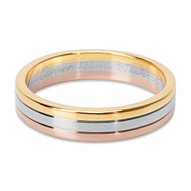 Cartier Trinity 4.8 mm Wedding Band in 18KT Tri Colored Gold