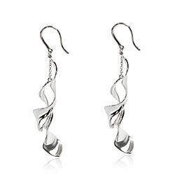 Tiffany & Co. Frank Gehry Orchid Earrings in Sterling Silver