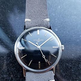 ULYSSE NARDIN Men's Rare Vintage ref.5663-2 Manual Hand-Wind c.1960s Swiss LV440
