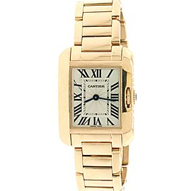 Cartier Tank Anglaise 23mm Rose Gold Ladies Watch 3487 W5310013