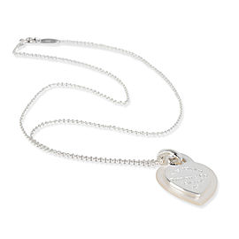 Tiffany & Co. Return to Tiffany Double Heart Necklace in Sterling Silver