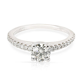 Gabriel & Co. Diamond Engagement Ring in 14K White Gold L SI1 0.8 CTW