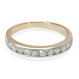 Tiffany & Co. Lucida Diamond Wedding Band in 18K Gold & Platinum (0.55 CTW)