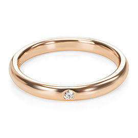 Tiffany & Co. Elsa Peretti Diamond Band in 18K Yellow Gold 0.02 CTW