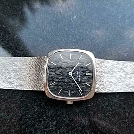 PATEK PHILIPPE Men's 18K White Gold 3566 Dress Watch, c.1970s All Original LV630