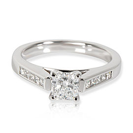 James Allen Radiant Diamond Engagement Ring in 14K White Gold E VS1 0.87 CTW