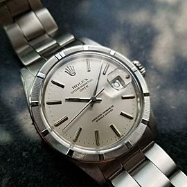 Men's Rolex Oyster Perpetual Date ref.1501 Automatic c.1970s Swiss Vintage LV918