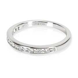 Tiffany & Co. Channel Set Diamond Wedding Band in Platinum (0.17 CTW)