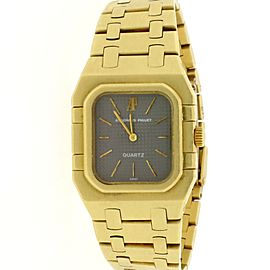 Audemars Piguet Royal Oak 18k Yellow Gold Rectangular Vintage Quartz Watch