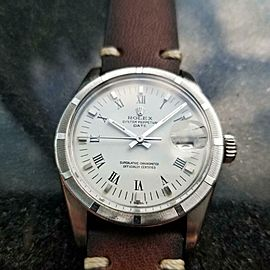 Men's Rolex Oyster Perpetual Date ref.1501 Automatic, c.1979 Vintage MS129BRN