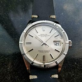 Men's Rolex Oyster Perpetual Date 1501 Automatic c.1973 Swiss Vintage LV909BLU
