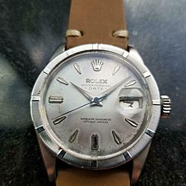 Men's Rolex ref.1501 Oyster Perpetual Automatic w/Date, c.1960s Vintage LV982TAN