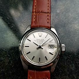 Ladies Rolex Oyster Perpetual Date ref.6916 Automatic, c.1978 Swiss Lux LV843BRN