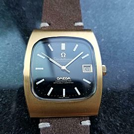 Men's Omega Constellation Date Automatic Gold-Capped, c.1970s Swiss J7154TAN
